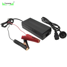 Smart Fast 58.4V 3.5A Battery Charger for Lead Acid Battery Pack with Crocodile Clip
