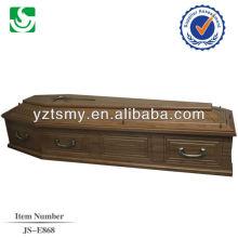 clássica metal decoração agradável para o caixão padrão