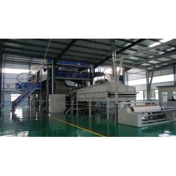 PP spunbond meltblown composite non-woven production line
