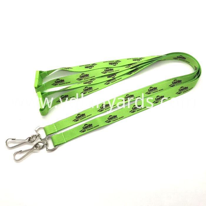 Polyester Ribbon Lanyards