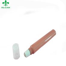 2018 novo estilo lip gloss tubo de plástico com rolos