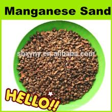 Meio de remoção de ferro de manganês 0,5-1mm de areia de manganês