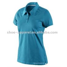 última camiseta del polo de tenis de las mujeres