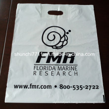 Die Cut Handle Plastic Shopping Bag