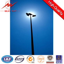 Selector de mástil de 4 secciones 30 m de alto palo 1.2ton con luces LED de 15 * 2000W