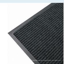 Tapete traseiro em PVC para interior com nervuras