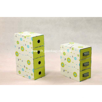 High Quality Stationery Packaging Drawer Gift Box