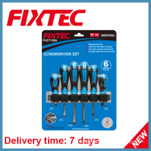 Fixtec Hand Tools CRV Screwdriver Sets with Soft Handle