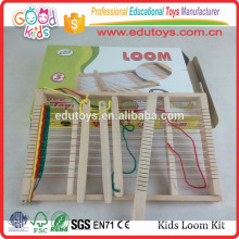 School Children Hand Eye Coordination DIY Toys Wooden Kids Loom Kit