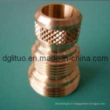 Brass Nut Avec SGS, ISO9001: 2008, Rohs
