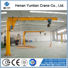 Heavy Load fix column Pillar Mounted 5Ton Jib Crane