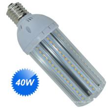 Lâmpada de Rua LED 40W E27 ou Base E40 para substituição tradicional de lâmpada de halogéneo
