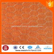 2016 Alibaba China galvanizou o engranzamento de fio hexagonal da galinha