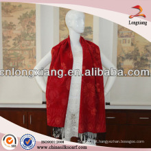 2014 novo design plain pashmina xaile para senhora