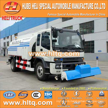 Japan technical 4x2 18000L sewer flushing truck 270hp engine best selling