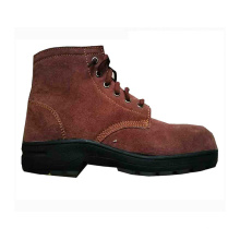Good Quality Casual brown steel buffalo leather safety shoes malaysia