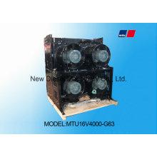 Radiador del generador de Mtu 12V4000g23r de la alta calidad