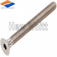 venda quente Titanium countersunk bolt