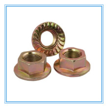 Carbon Steel Hex Flange Nut (DIN6923)
