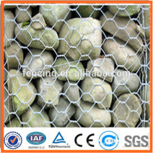 protection galvanized hexagonal gabion wire mesh