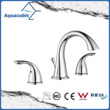 Three Hole Bathroom Popular Wash Basin Faucet (AF5010-6C)