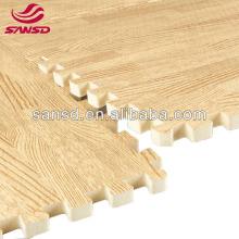 Cheap price EVA wood grained foam mats