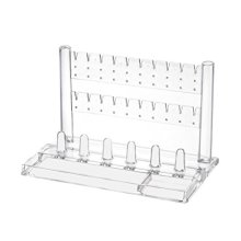 Acrylic Jewelry Display Stand Necklace Hangers