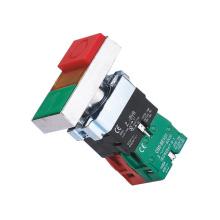 Interruptor de pressão de cabeça dupla XB2-BW com luz