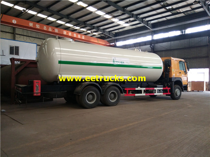 Propane Delivery Tank Vehicles