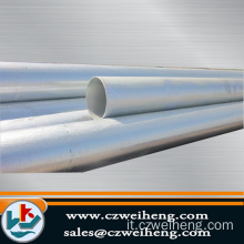 Erw Steel Pipe Outside Diametro 245mm