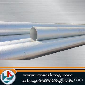 ASTM A53 SCH40 BLACK Erw Steel Pipe