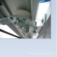 Consumo de energia em torno de 120W porta deslizante automática