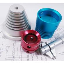 Aluminium CNC-Bearbeitungsteile für Beleuchtungszubehör