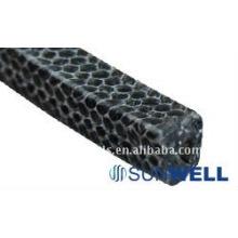 Embalagem de fibra carbonizada chinesa com PTFE
