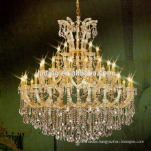 Hotel lobby cheap luxury maria theresa chandelier lighting for sale 8031