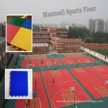 Indoor \ Professional Barato PP Interlocking Esportes Revestimento para quadra de basquete