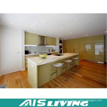 Cabinet de cuisine standard européen spécialisé en laque fabriqué en Chine (AIS-K190)