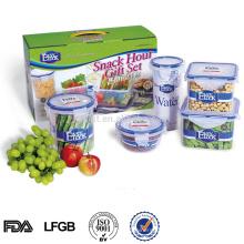 BPA frei Kunststoff Picknick Essen Lagerung Container-Set