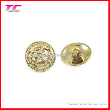 Shiny Gold Coat Metal Button