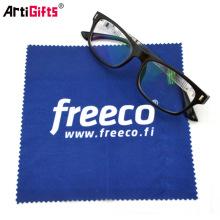 Gafas de microfibra de impresión personalizada paño de limpieza