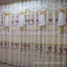 Jacquard ready made curtain