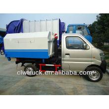 1-3 toneladas pequeño gancho que levanta el carro de basura (Euro 4)