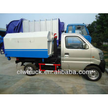 1-3 tons small hook lifting garbage truck(Euro 4)