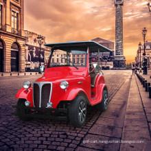 Zhongyi Brand 4 /6/8/12 Seats Antique Electric Classic Car