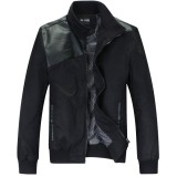 Men Mens Leather Fashion Eurpoe Size Hot Seal Jacket