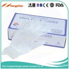 gant sans poudre de vinyle