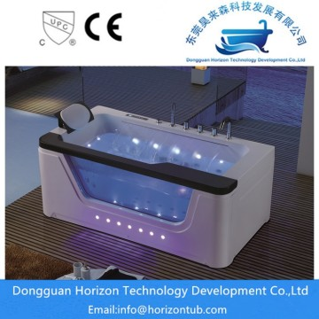 High quality massage glass bathtub