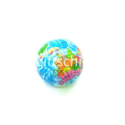 Promotional Globe Shaped Stress Balls2