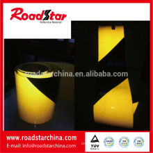 Engineering Grade adhesive Slant Stripe reto reflective film