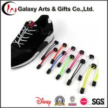 Promotion Color Beatiful Elastic Laces No Tie Coiled Elastic Shoelace with Lock